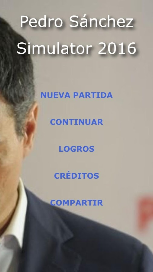 Pedro Sánchez Simulator 2016- screenshot