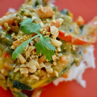Peanut Coconut Vegetable Curry Recipe