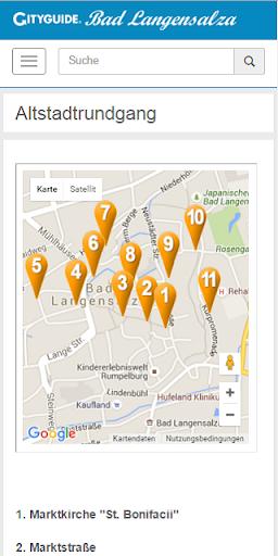 玩免費旅遊APP|下載Cityguide Bad Langensalza app不用錢|硬是要APP