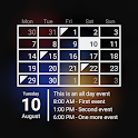 Calendar Widget Month + Agenda icon