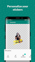 screenshot of Sticker Studio - WhatsApp Sticker Maker