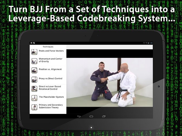 BJJ Core Concepts Screenshot