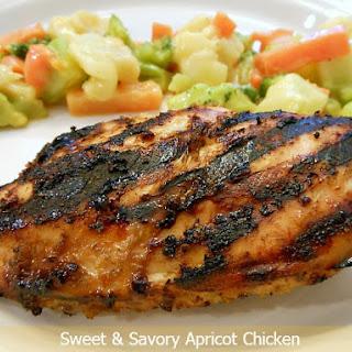 SWEET & SAVORY APRICOT CHICKEN