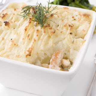 Salmon Shepherd's Pie.
