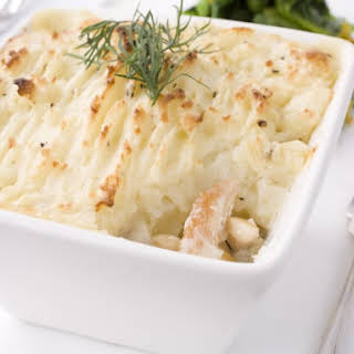 Salmon Pie With Mashed Potatoes Recipes.
