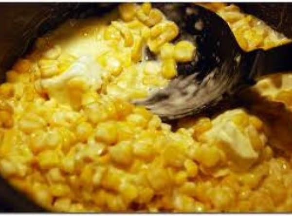 Rudy's Creamed Corn Recipe