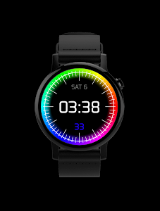 Chroma Watch face screenshot 3