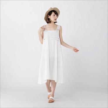 ⭐️鈎花Lace連身裙▶️$200
