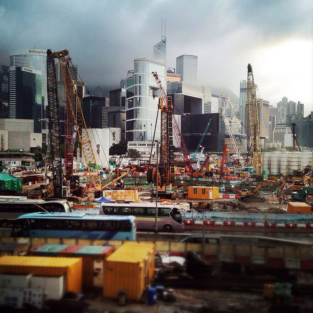 香港, Wan Chai, Hong Kong, Harbor, Reclamation, 灣仔, 填海