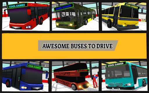 2019 Megabus Driving Simulator : Cool games 1.0 screenshots 3