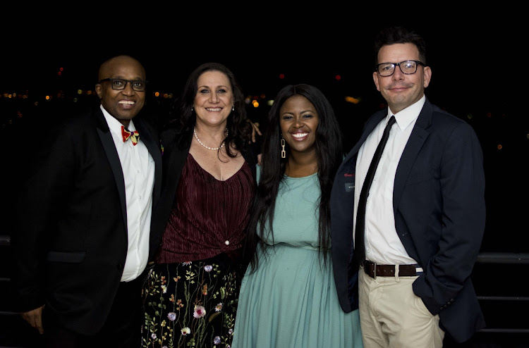 Collective ID's managing partners: (from left to right): Qingqile 'WingWing' Mdlulwa, Sharon Bergman, Brenda Khumalo and John Davenport.