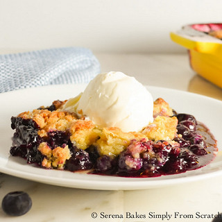 Blueberry Cobbler With Fresh Blueberries Recipes
