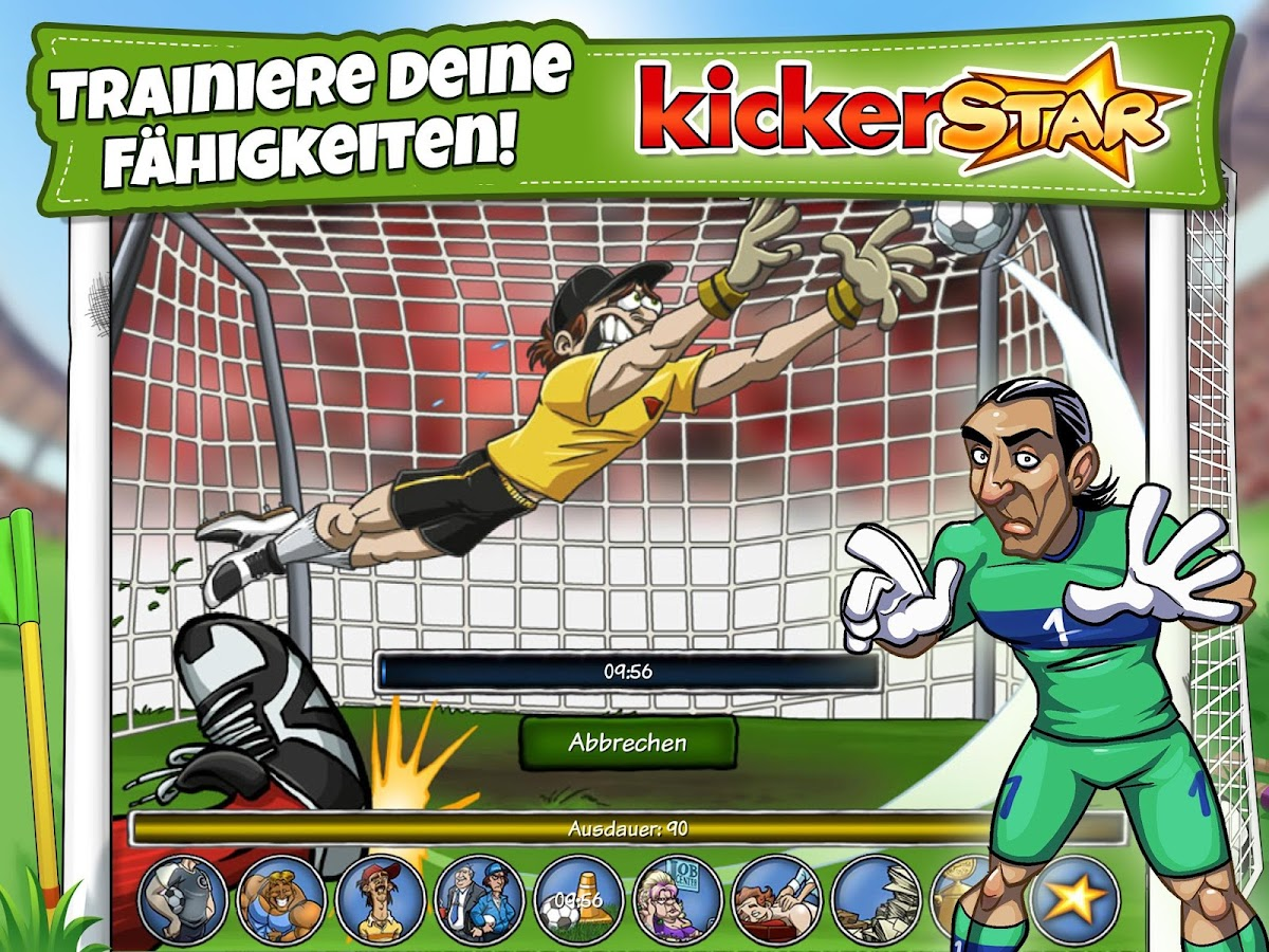 KickerStar – Screenshot