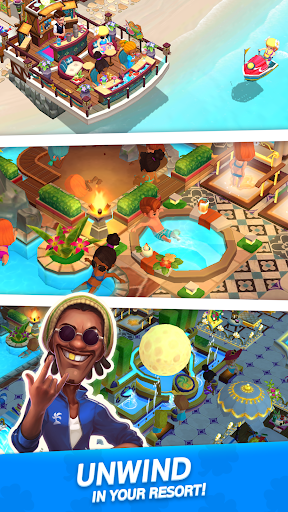 My Little Paradise : Resort Management Game android2mod screenshots 6