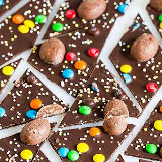 Easter Candy Chocolate Bark