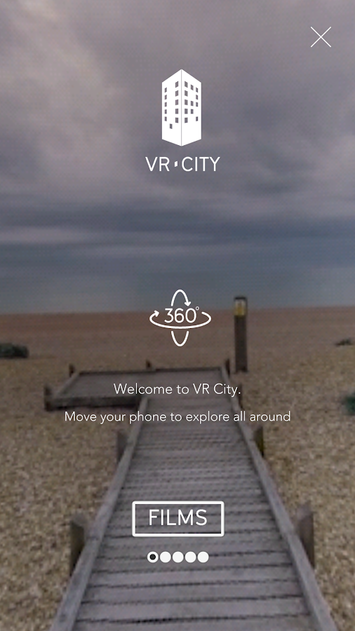 VR City- screenshot
