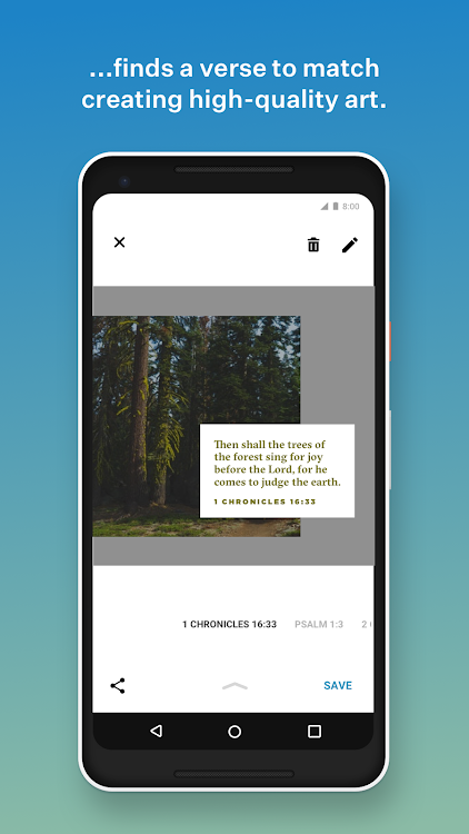 YouVersion Bible Lens: Bible Verse Photo Editor – (Android Apps