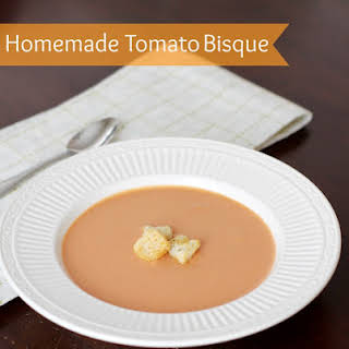 Tomato Bisque Soup With Fresh Tomatoes Recipes.