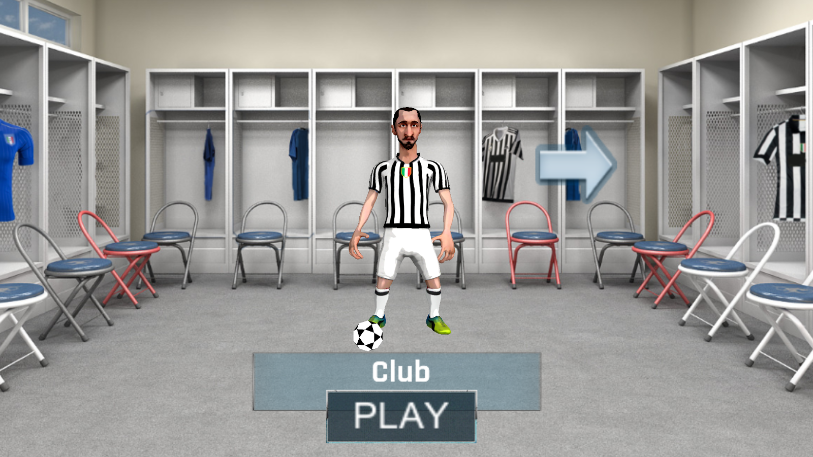 Champions Football Run- screenshot