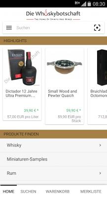 Whisky Shop Whiskybotschaft - screenshot