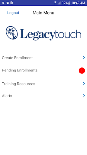 Screenshot for Legacy Touch in United States Play Store