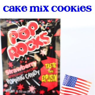 Firecracker Cake Mix Cookies