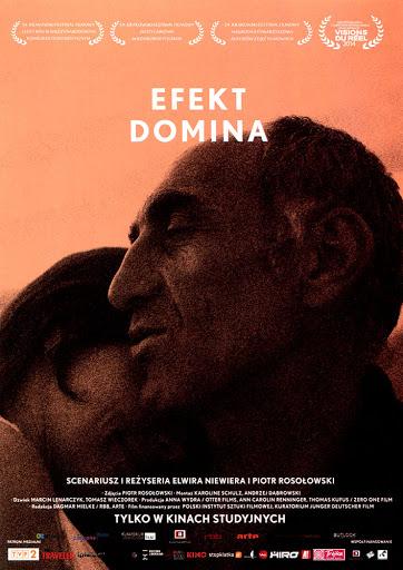 Przód ulotki filmu 'Efekt Domina'