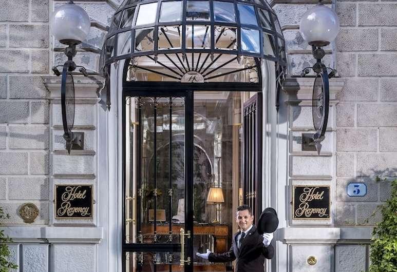 Hotel Regency, Florence, Hotel Entrance