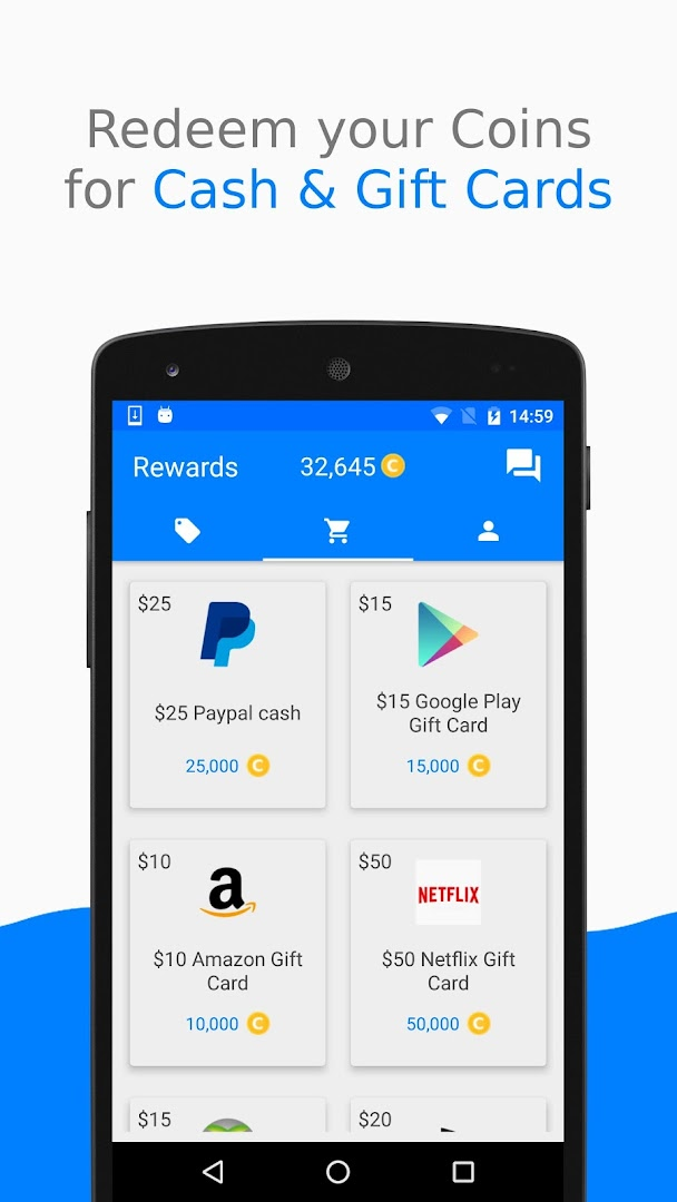 Cash Yourself: Free Rewards, Gift Cards & Prizes - Revenue