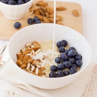 Creamy Millet Almond Power Porridge {Gluten-Free, Dairy-Free}