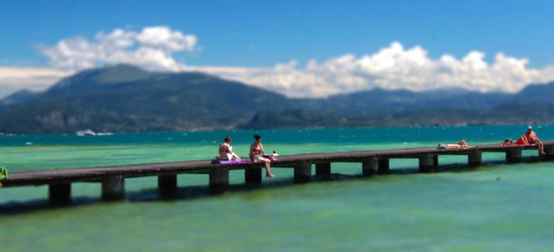 Al lago di Alberto Rocco