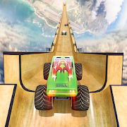 Mega Ramp Monster Truck Stunts Racer