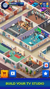 TV Empire Tycoon Mod Apk (Unlimited Money) 0.9.5 1