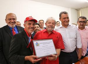 Photo: Lula recebeu, no dia 11 de julho de 2016, o título de cidadão da cidade de Juazeiro (Bahia). Foto: Ricardo Stuckert/Instituto Lula