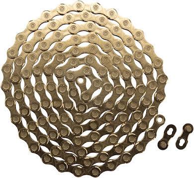 KMC X12 Chain: 12-Speed, 126 Links, Ti Nitride Gold alternate image 1