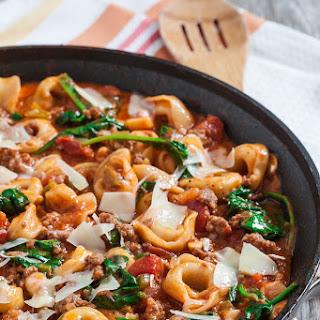 20-Minute Skillet Tuscan Tortellini