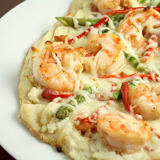 White Seafood Pizza #PizzaWorld