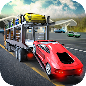 City Car Transport Cargo Truck