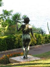 Photo: Garden of Monaco-Ville. Monaco-Ville is the original fortified town of Monaco. The ancient name for Monaco-Ville is Monoecus.