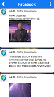 A4JR - All for Jesus Radio- screenshot thumbnail