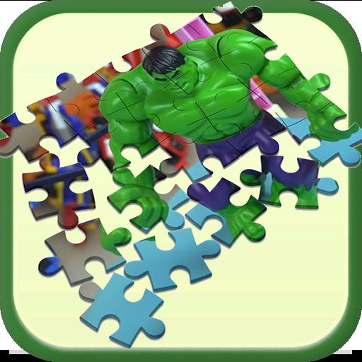 Hulk Puzzle Toys