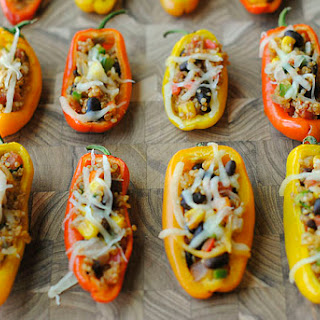 Quinoa Mini Stuffed Peppers