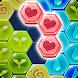 ブロックヘキサパズル:マイフラワー