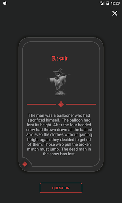Dark Stories - Black Quiz - screenshot