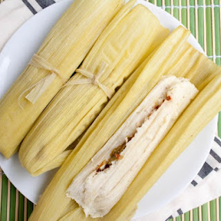 Vegan Green Corn Tamales