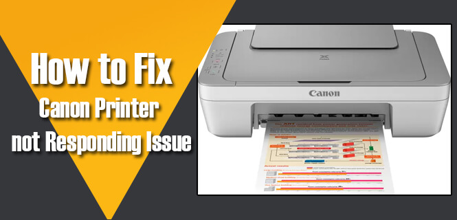 Canon Printer Not Responding (Fixed) | Not Responding