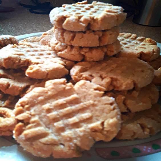 Peanut Butter & Honey Cookies Recipe