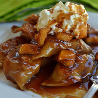 Apple Dumplings in Caramel Sauce