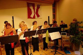 Photo: Unsere Mitstreiter der Panflöten Chors  Basel