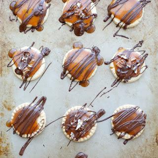 Shortbread Turtle Cookies.